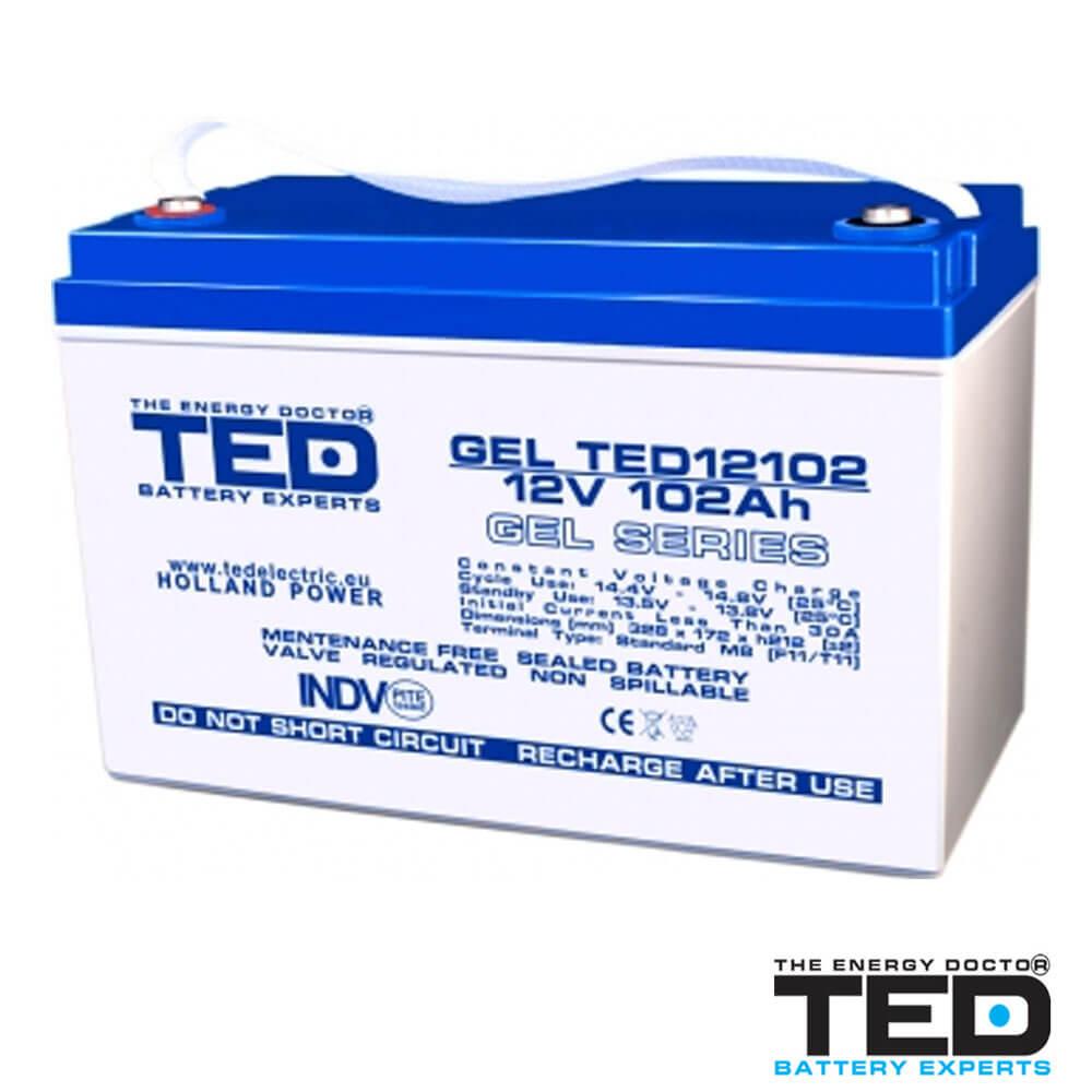 Cel mai bun pret pentru Acumulatori TED ELECTRIC TED12102M8 Acumulator
