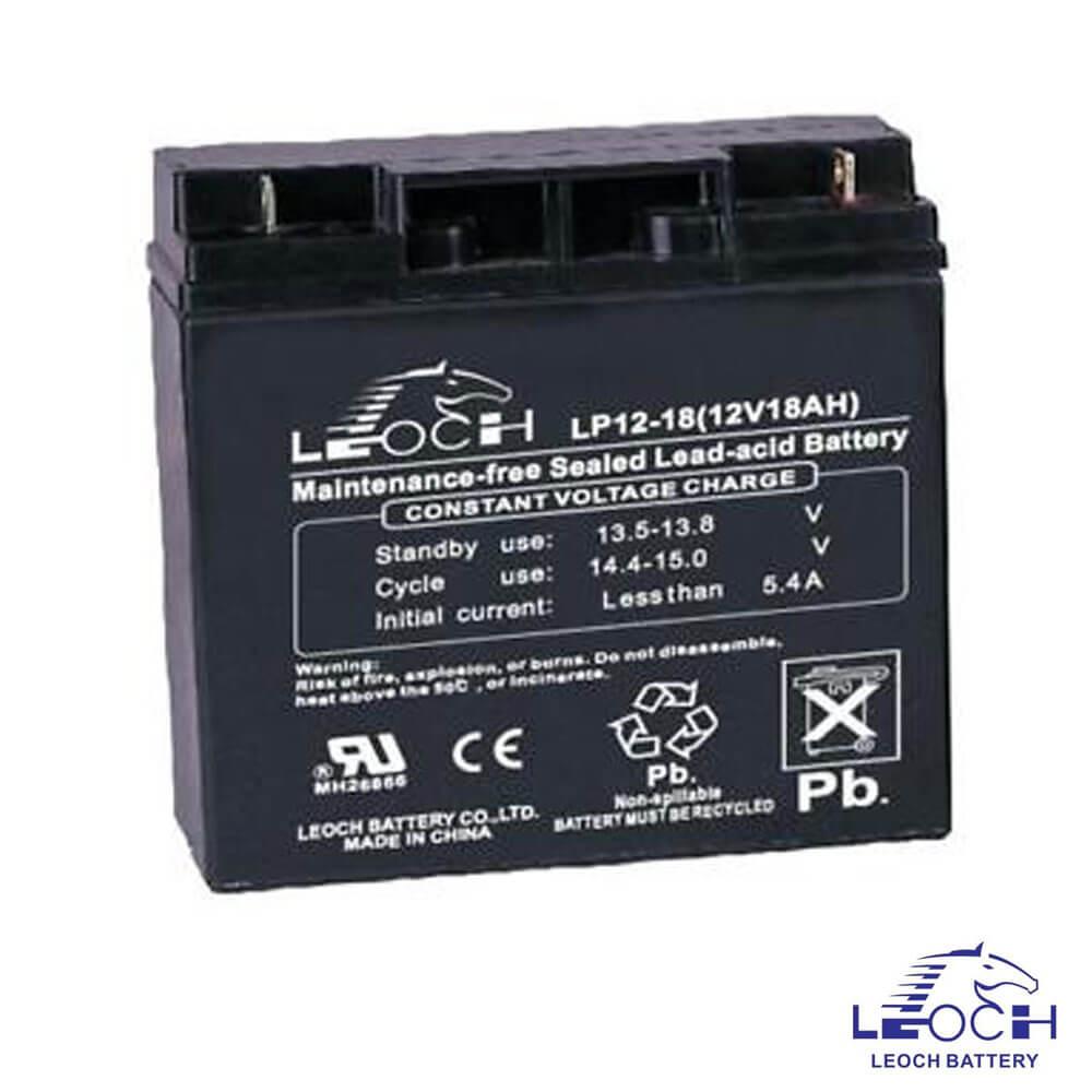 Cel mai bun pret pentru Acumulatori LEOCH LP12-18 Terminal F3