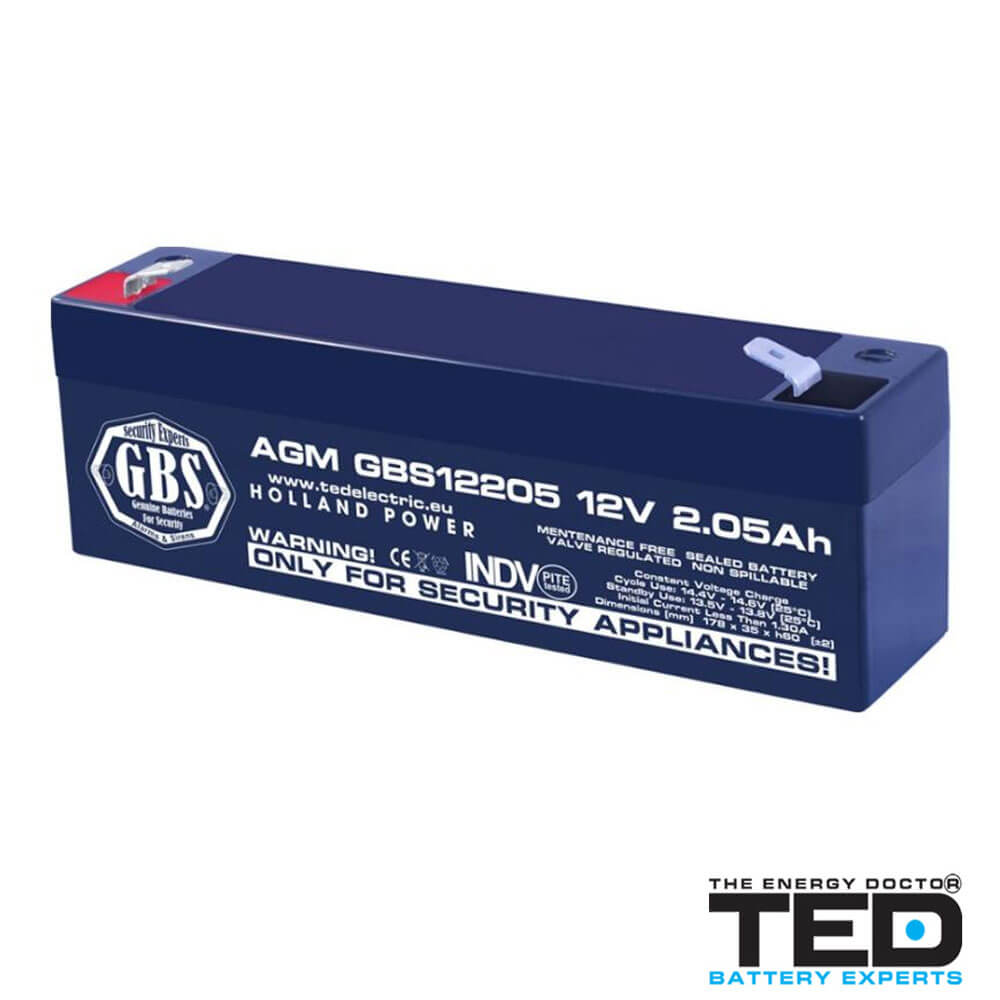 Cel mai bun pret pentru Acumulatori TED ELECTRIC GBS12205F1 Acumulator