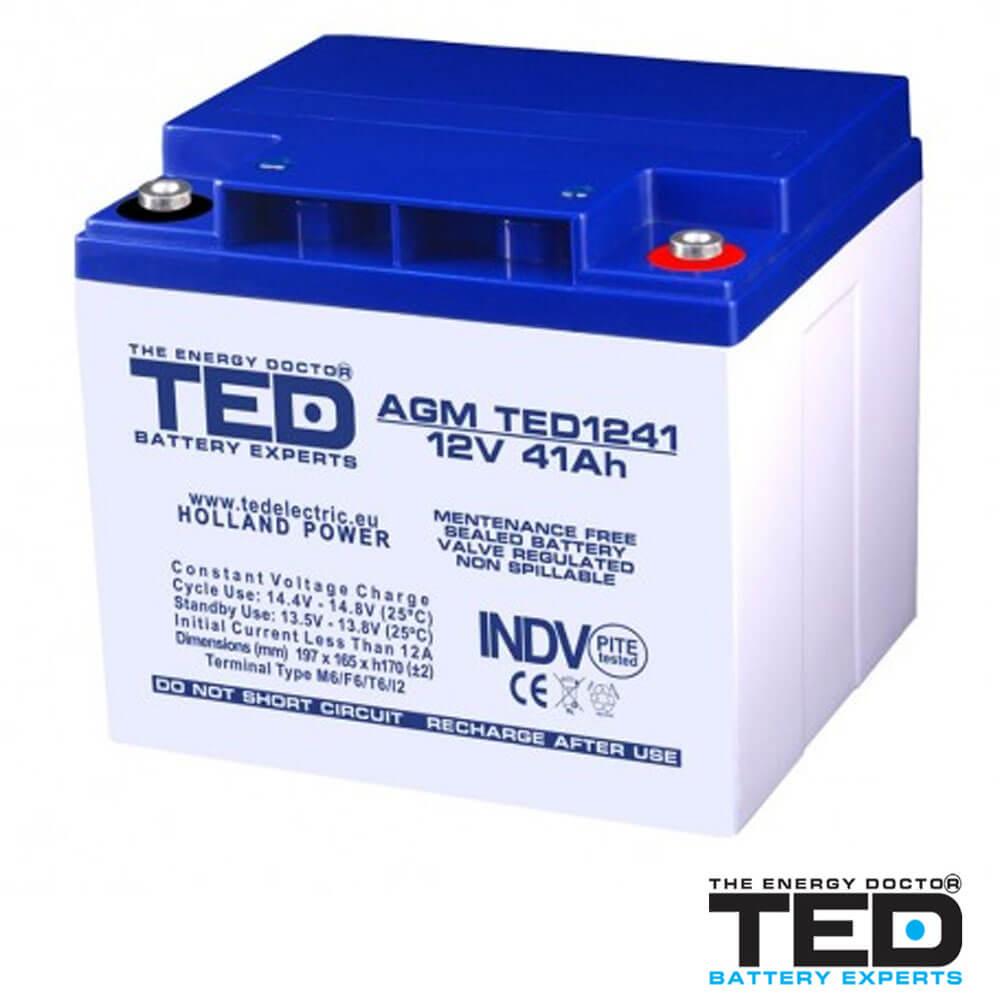 Cel mai bun pret pentru Acumulatori TED ELECTRIC TED1241M6 Acumulator