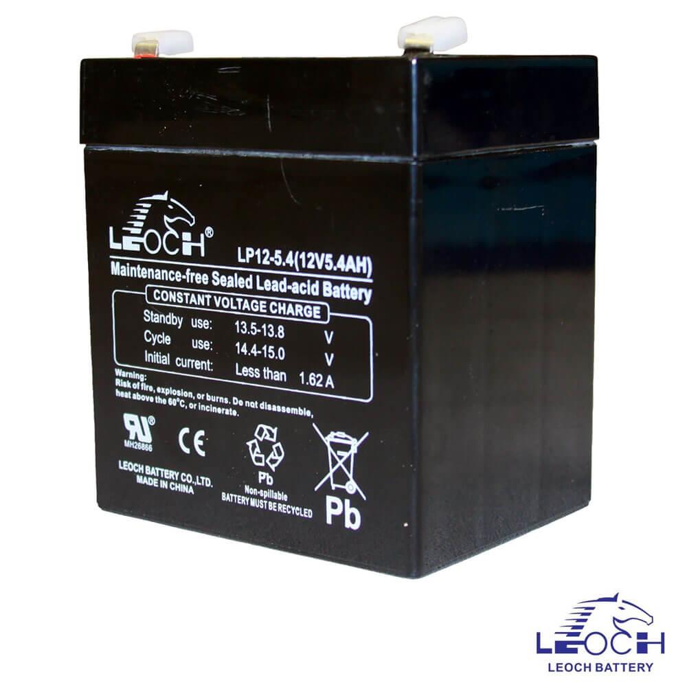 Cel mai bun pret pentru Acumulatori LEOCH LP12-5.4 Greutate: 3,97 kg