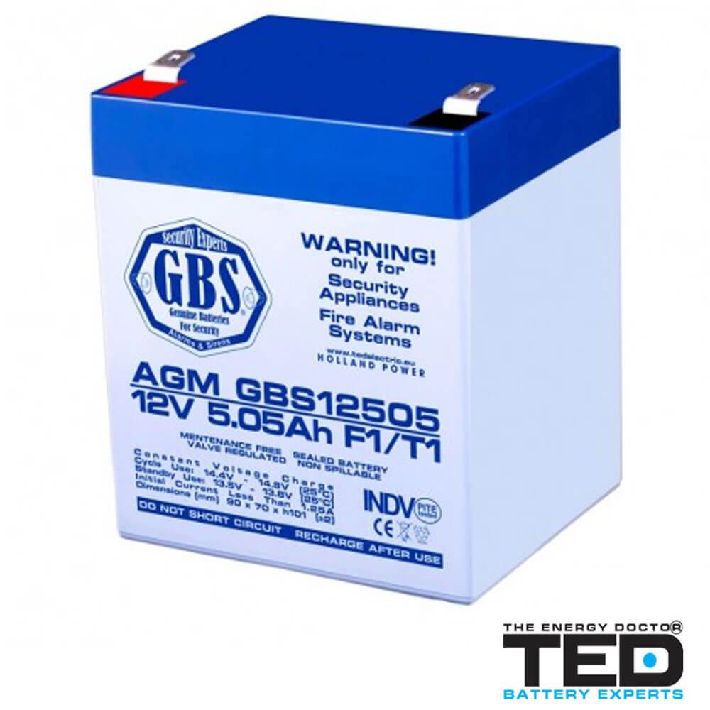 Cel mai bun pret pentru Acumulatori TED ELECTRIC GBS12505F1 Acumulator