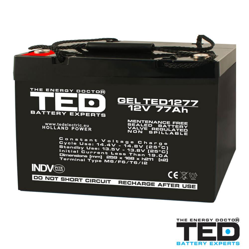 Cel mai bun pret pentru Acumulatori TED ELECTRIC TED1277M6 Acumulator