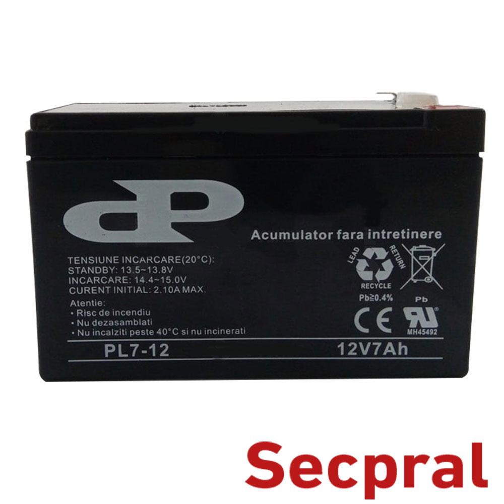 Cel mai bun pret pentru Acumulatori SECPRAL PL-7AH Capacitate: 7Ah