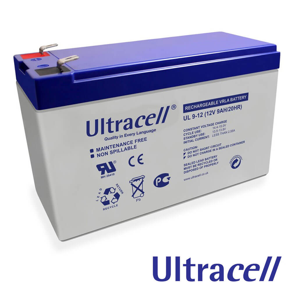 Cel mai bun pret pentru Acumulatori ULTRACELL UL9-12 Capacitate: 9Ah