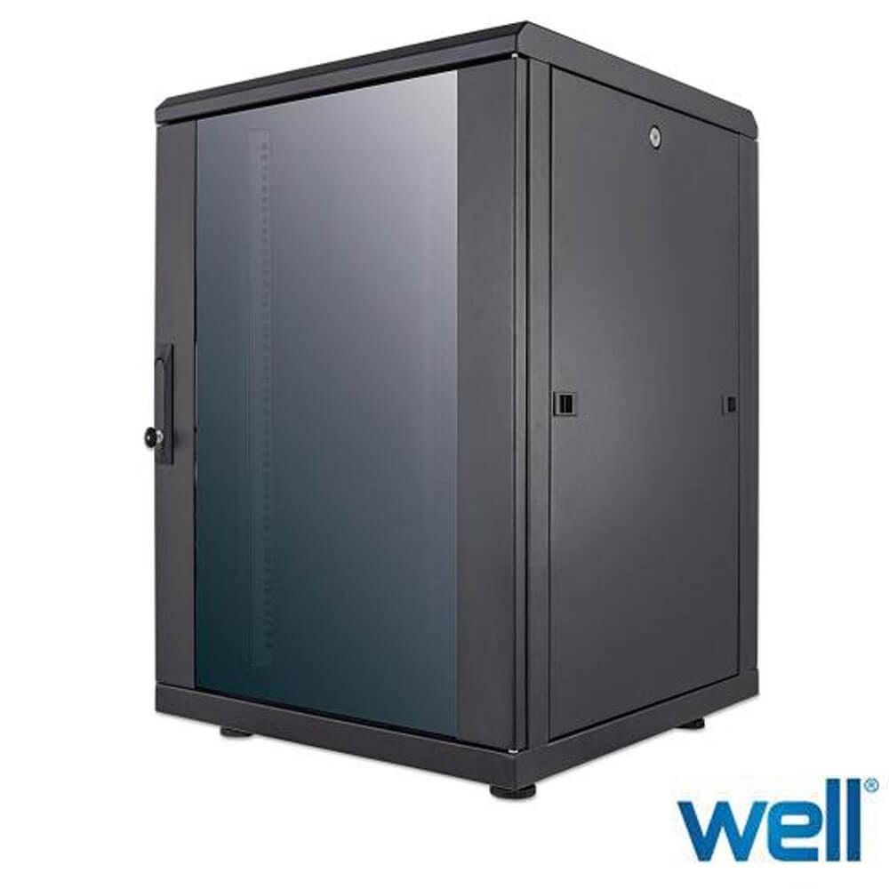 Cel mai bun pret pentru Rack-uri WELL CAB/NW-19/16U-77.8X60X60/BK/FP-INTL Dulapul rack Intellinet ofera o solutie flexibila si cuprinzatoare pentru instalatii de retea.