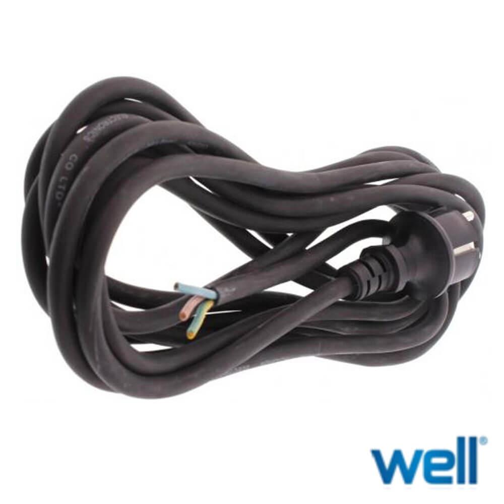 Cel mai bun pret pentru Cabluri WELL PW/SH-3MBK-IP44 Cablu alimentare pentru uz extern
