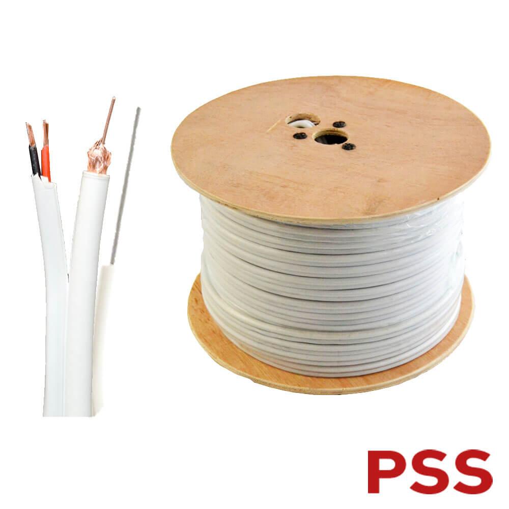 Cel mai bun pret pentru Cabluri PSS RG59-2C Cablu semnal video, sufa si alimentare pentru camere