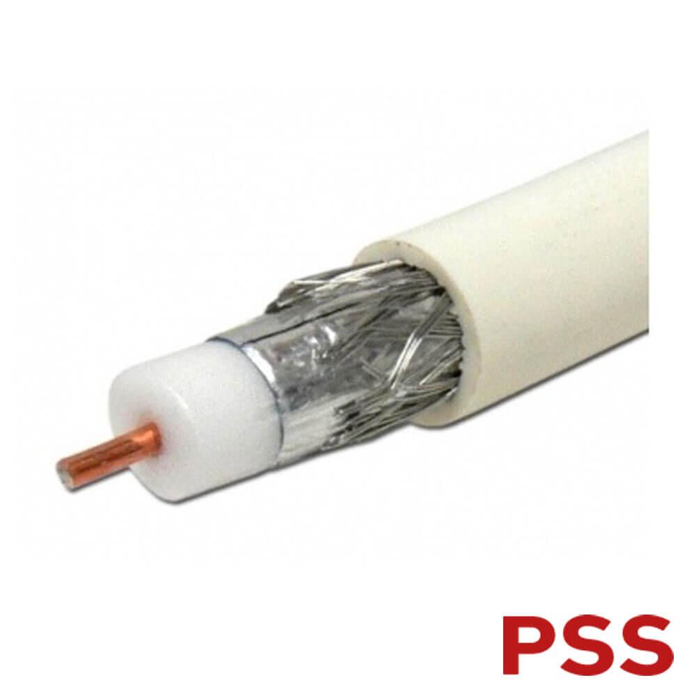 Cel mai bun pret pentru Cabluri PSS CX-MESS-300 Cablu coaxial RG6 cu sufa metalica