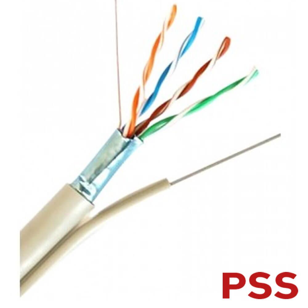 Cel mai bun pret pentru Cabluri PSS FTP-CAT6-SUFA Cablu FTP Cat 6 cu sufa metalica autoportant
