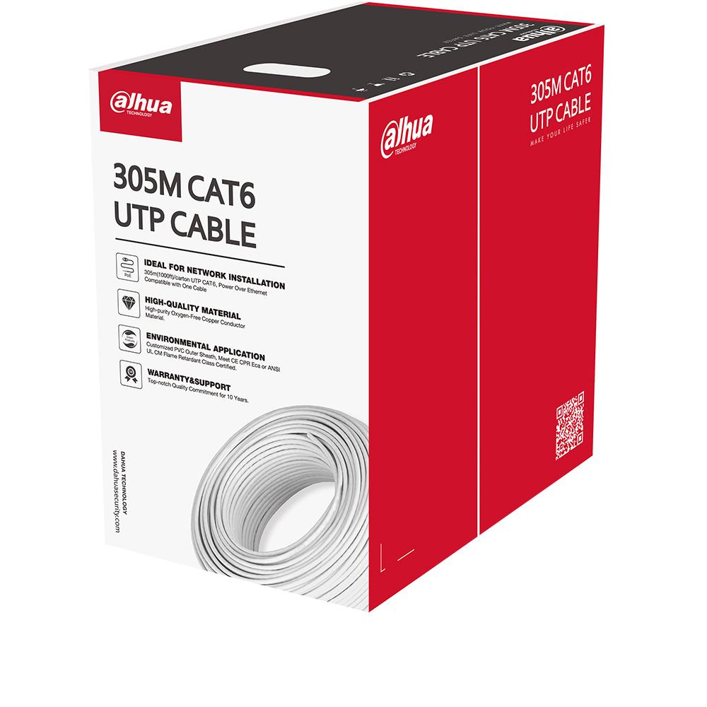 Cel mai bun pret pentru Cabluri DAHUA PFM920I-6UN-C-V2 Rola 305 metri