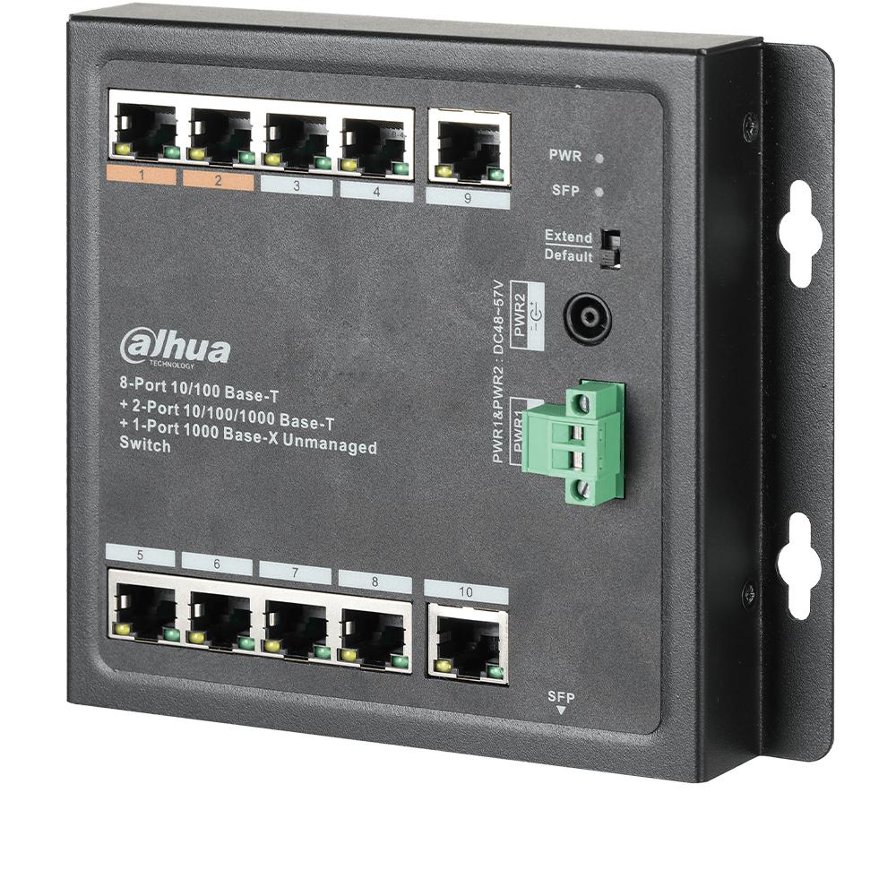 Cel mai bun pret pentru Switch-uri si injectoare DAHUA PFS3111-8ET-96-F Special pentru interconectarea diferitelor segmente de rețea