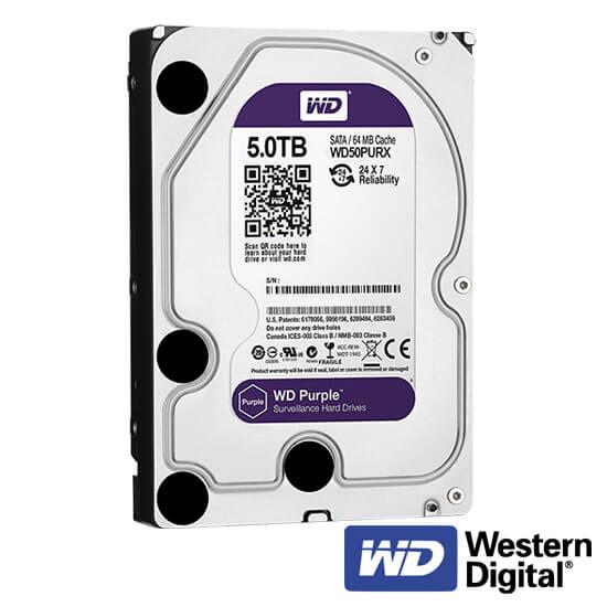 Cel mai bun pret pentru Hard Disk-uri WESTERN DIGITAL SURVEILLANCE-5000GB <u>Special pentru supraveghere video</u>