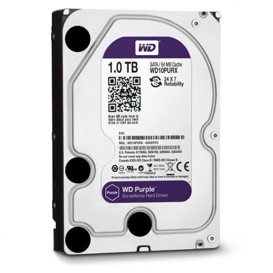 Cel mai bun pret pentru Hard Disk-uri WESTERN DIGITAL WD1TB <u>Special pentru supraveghere video</u>