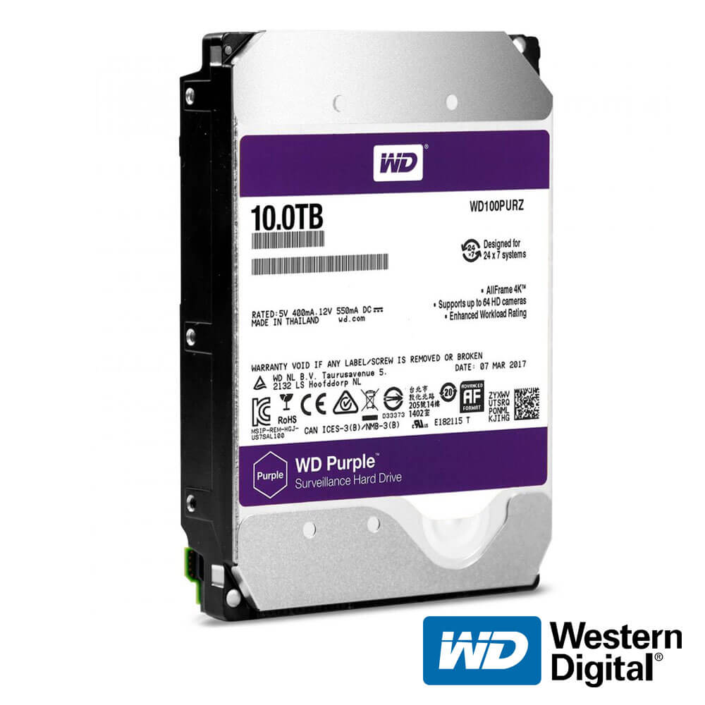 Cel mai bun pret pentru Hard Disk-uri WESTERN DIGITAL WD10TB PREMIUM <b>NOU!</b> <u>Special pentru supraveghere video</u>