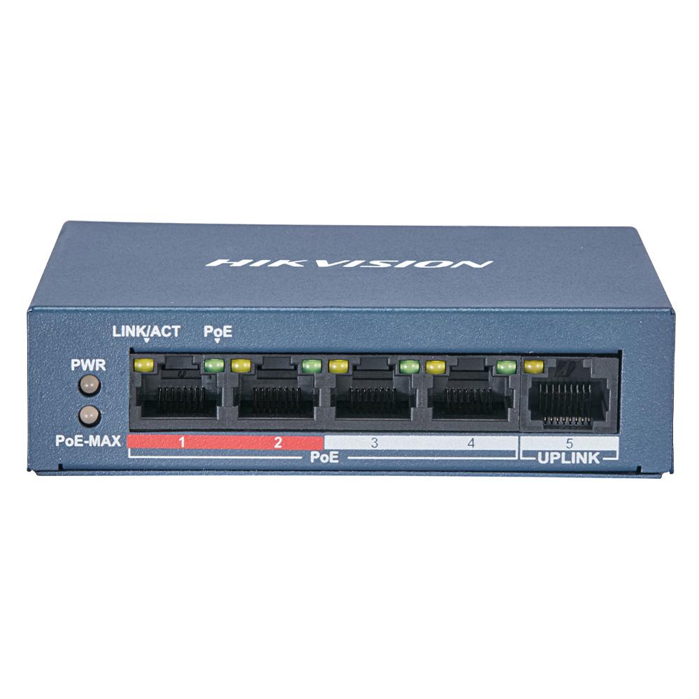 Cel mai bun pret pentru Switch-uri si injectoare HIKVISION DS-3E0105P-E/M(B) <i>Special pentru interconectarea diferitelor segmente de rețea</i>