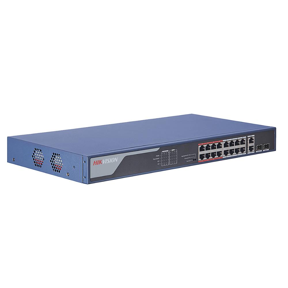 Cel mai bun pret pentru Switch-uri si injectoare HIKVISION DS-3E0318P-E(B) <i>Special pentru interconectarea diferitelor segmente de rețea</i>