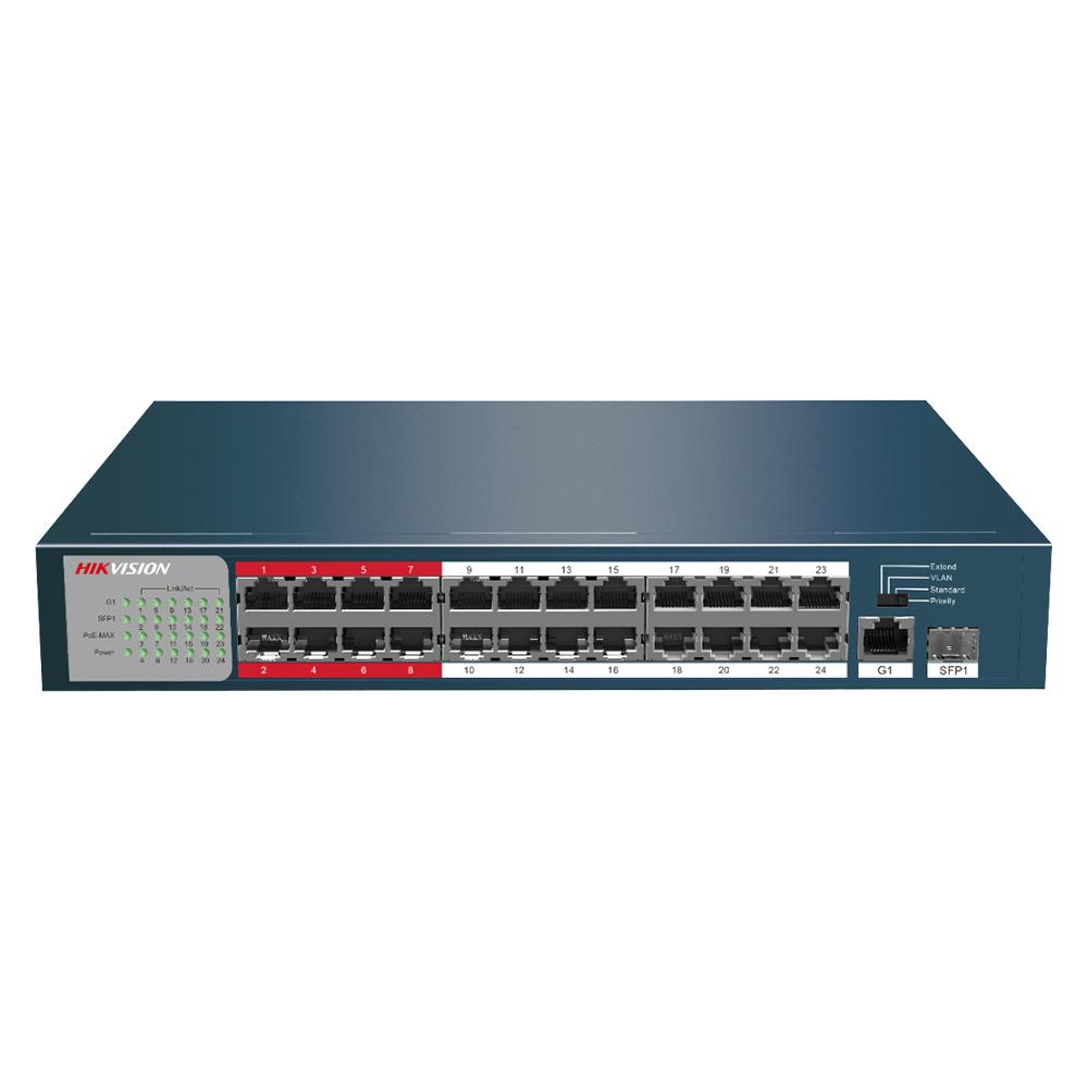 Cel mai bun pret pentru Switch-uri si injectoare HIKVISION DS-3E0326P-E(B) <i>Special pentru interconectarea diferitelor segmente de rețea</i>