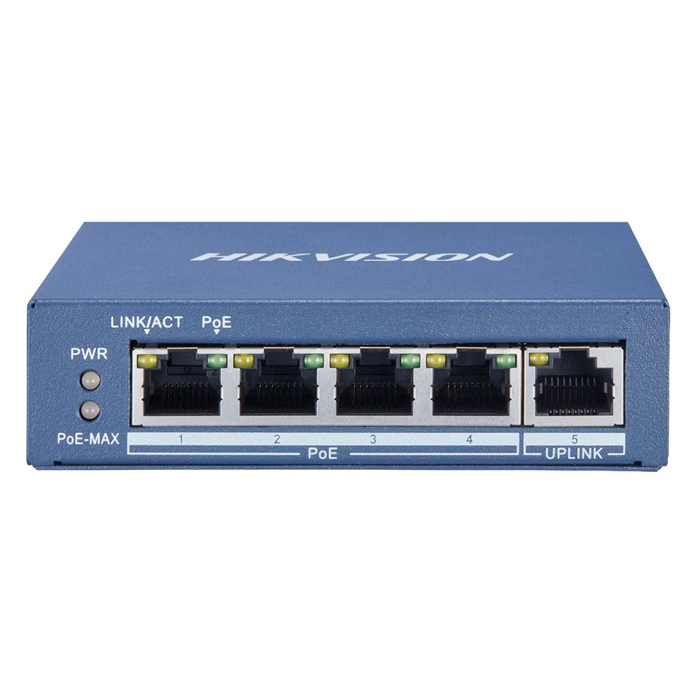 Cel mai bun pret pentru Switch-uri si injectoare HIKVISION DS-3E0505P-E  Special pentru interconectarea diferitelor segmente de rețea