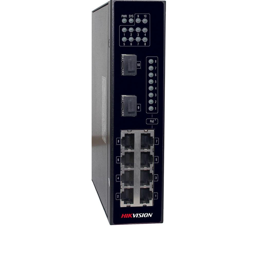 Cel mai bun pret pentru Switch-uri si injectoare HIKVISION DS-3T0310P Special pentru interconectarea diferitelor segmente de rețea