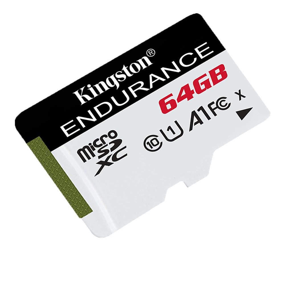 Cel mai bun pret pentru Carduri memorie KINGSTON SDCE/64GB <i> Seria Endurance - Durata de viata de 26.900 ore înregistrare 24/7 </i>