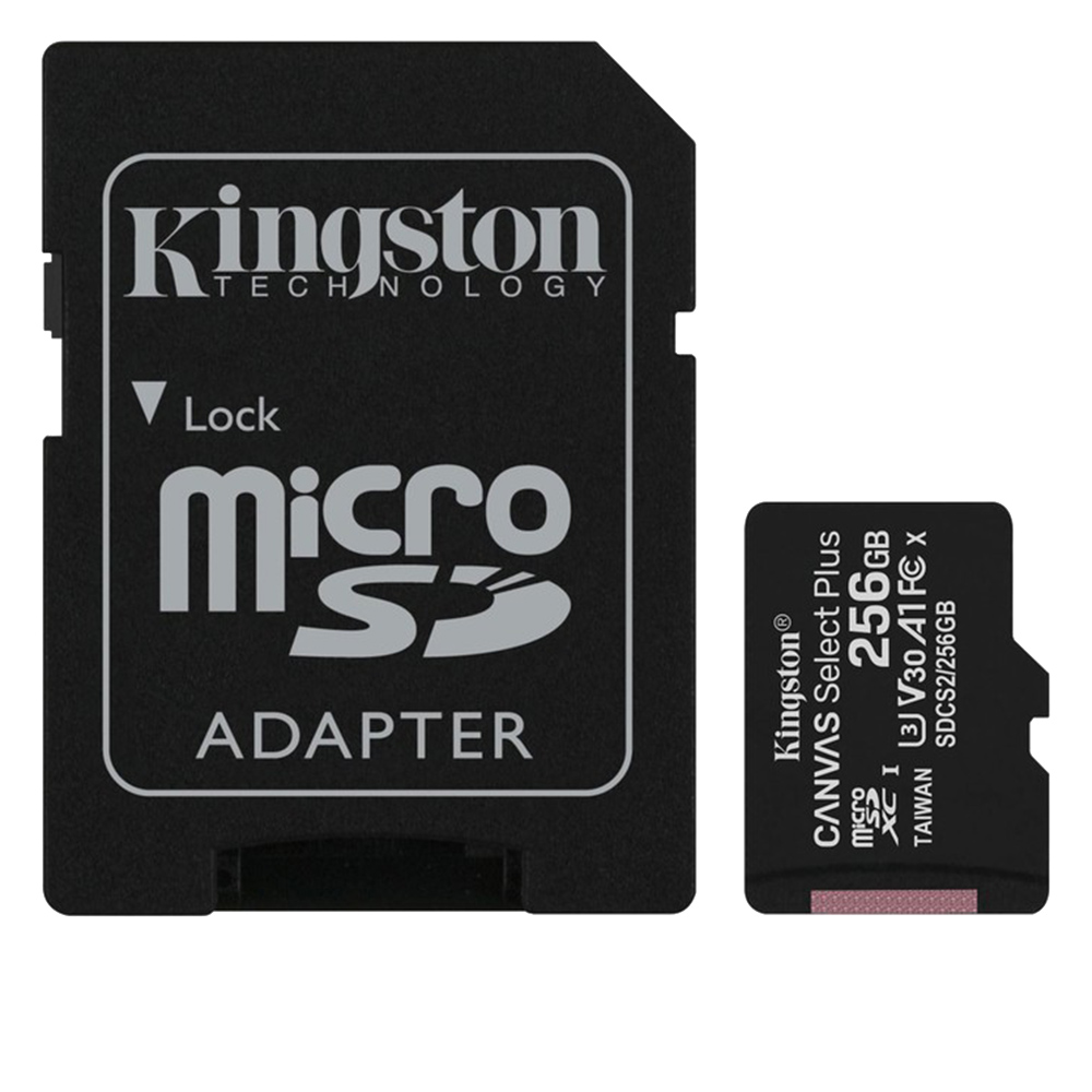 Cel mai bun pret pentru Carduri memorie KINGSTON SDCS/256GB <i>Seria Canvas Select Plus cu citire de 100MB/s</i>