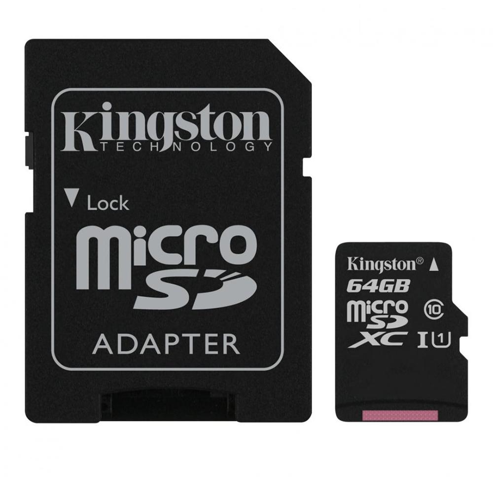 Cel mai bun pret pentru Carduri memorie KINGSTON SDCS/64GB Adaptor SD