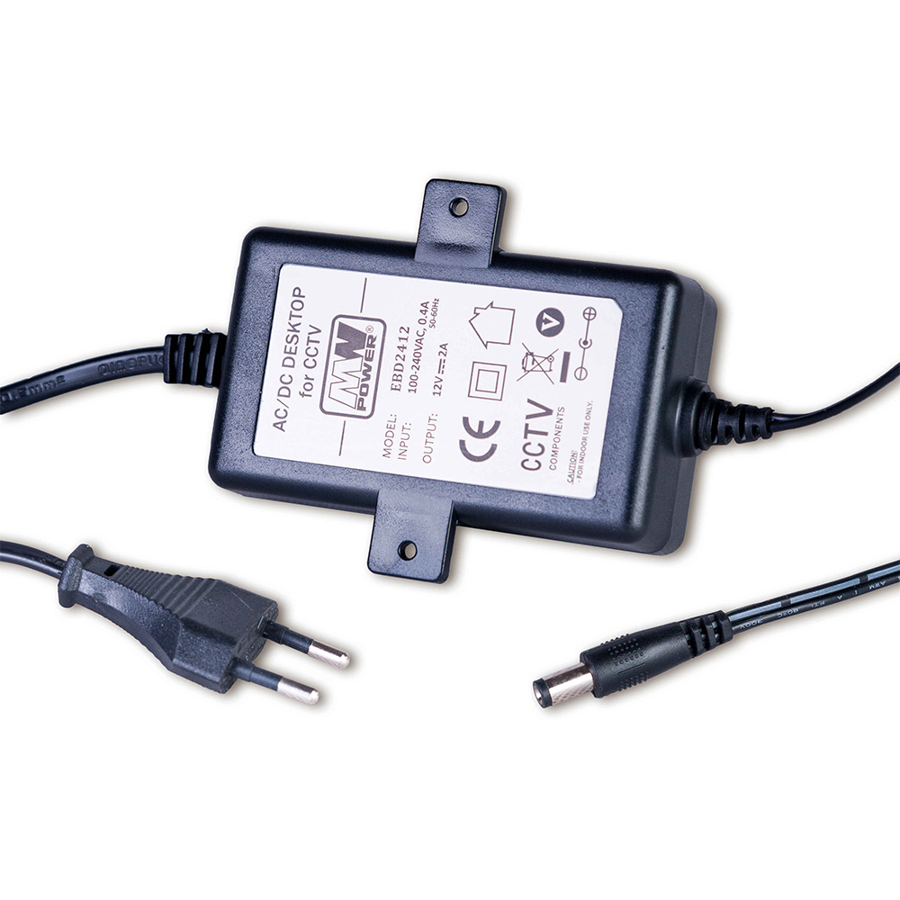 Cel mai bun pret pentru Surse alimentare MW POWER EBD2412 <i>Tip Desktop cu cablu de alimentare si stecher pentru priza.</i>