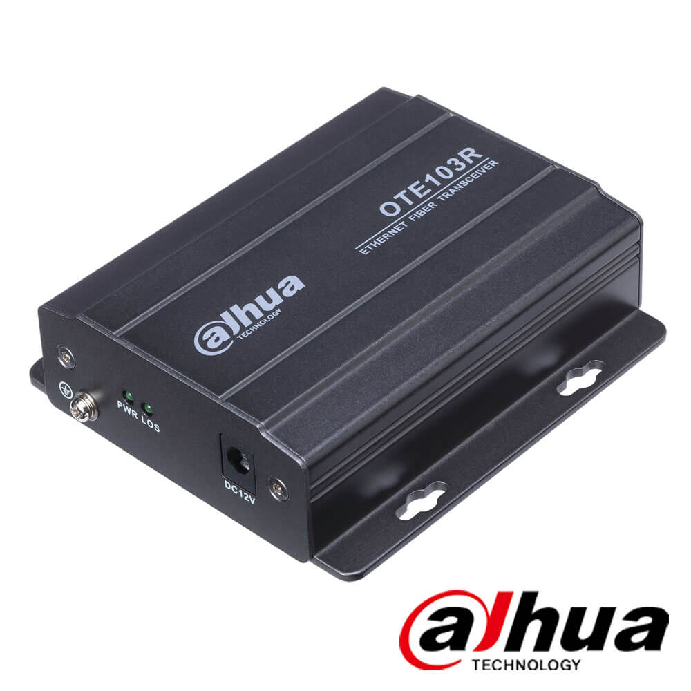 Cel mai bun pret pentru Media convertoare DAHUA OTE103R  receiver, FC port, single-mode fiber