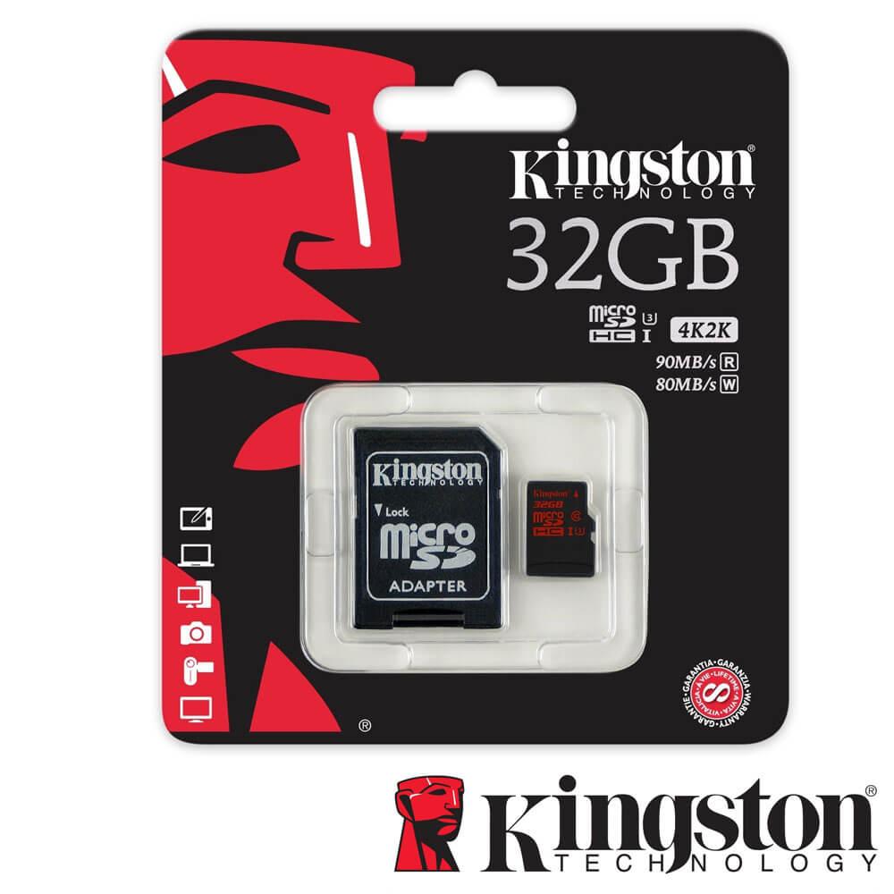 Cel mai bun pret pentru Carduri memorie KINGSTON SDCA3/32GB Adaptor SD