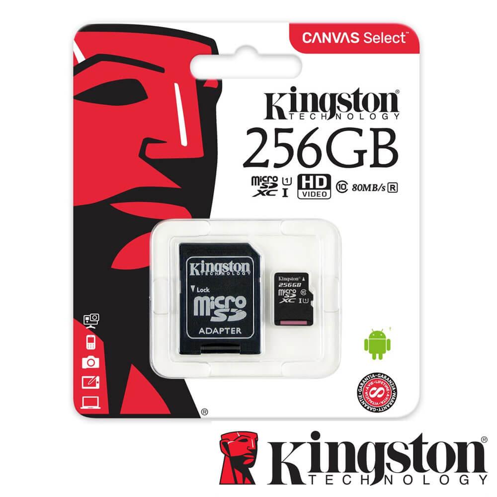 Cel mai bun pret pentru Carduri memorie KINGSTON SDCS/256GB Adaptor SD