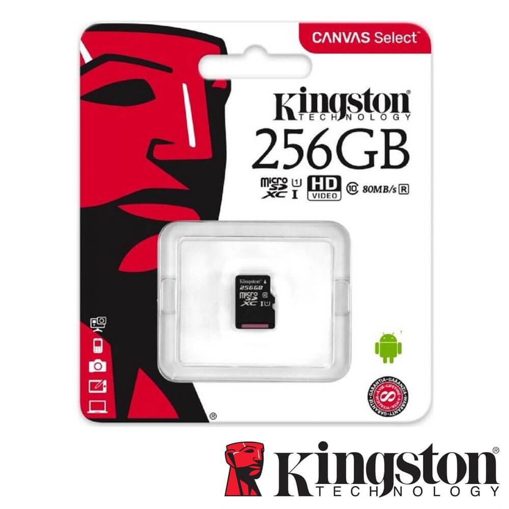 Cel mai bun pret pentru Carduri memorie KINGSTON SDCS/256GBSP Fara adaptor SD