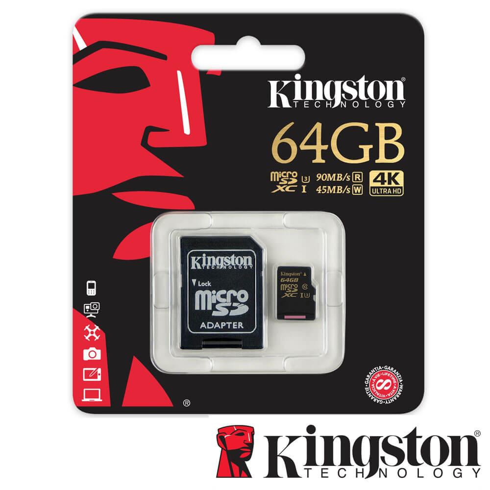 Cel mai bun pret pentru Carduri memorie KINGSTON SDCG/64GB Adaptor SD