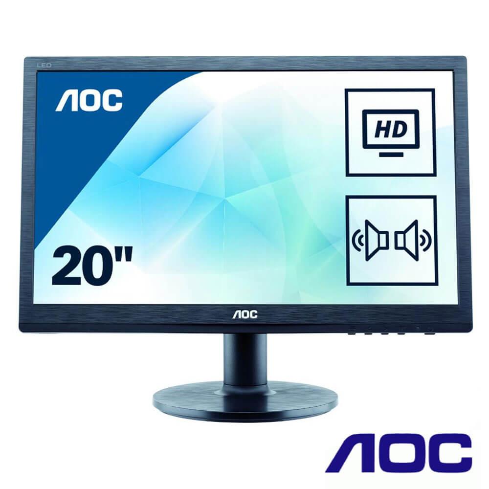 Cel mai bun pret pentru Monitoare AOC M2060SWD2 Monitor LED - Full HD rezolutie 1920x1080
