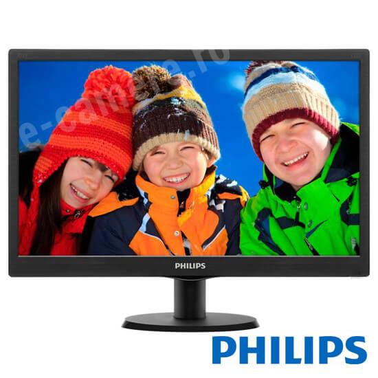 Cel mai bun pret pentru Monitoare PHILIPS 19.5-LED-HD Monitor LED - HD - 19.5 inch
