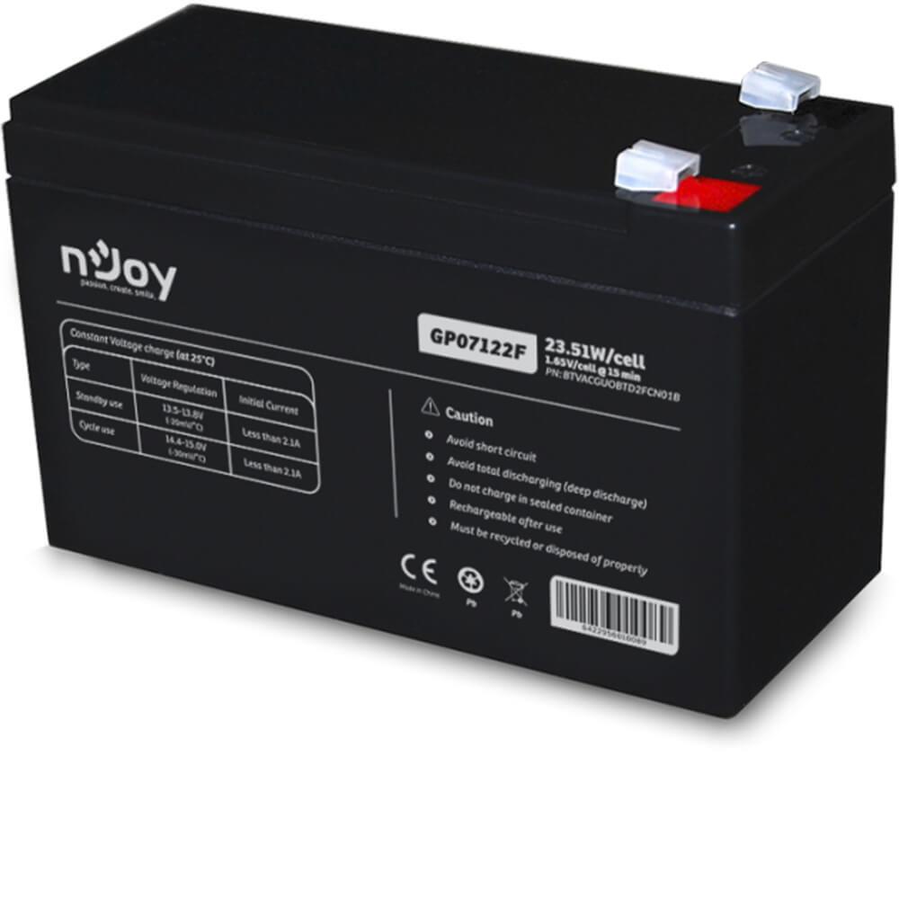 Cel mai bun pret pentru Acumulatori NJOY GP07122F Baterie long-life, stabilitate si fiabilitate pe termen indelungat