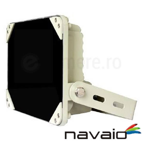 Cel mai bun pret pentru Iluminator NAVAIO NAV-A8IR3-90 Iluminator IR cu raza de 35 metri si unghi 90°