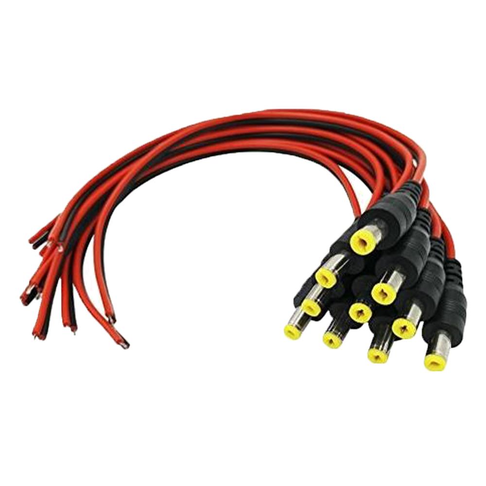 Cel mai bun pret pentru Mufe OEM ND-50DCM-10BUC Mufe alimentare tata cu cablu 50cm
