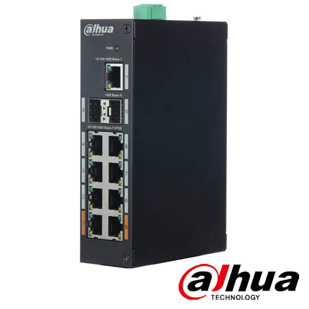 Cel mai bun pret pentru Switch-uri POE DAHUA PFS3211-8GT-120 Special pentru interconectarea diferitelor segmente de rețea