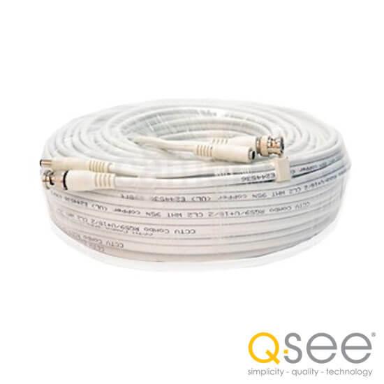 Cel mai bun pret pentru Cabluri Q-SEE CM10 Mufat BNC si alimentare, cu lungimea de 10m