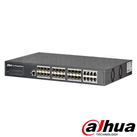 Cel mai bun pret pentru Switch-uri DAHUA PFS5924-24X <i>Special pentru interconectarea diferitelor segmente de rețea</i>