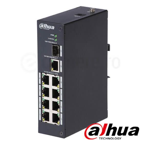 Cel mai bun pret pentru Switch POE DAHUA PFS3110-8P <i>Special pentru interconectarea diferitelor segmente de rețea</i>