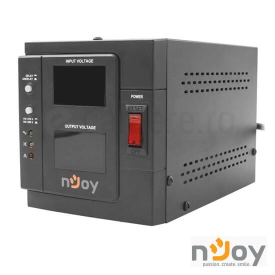 Cel mai bun pret pentru Stabilizatoare tensiune NJOY AKIN 1000 Stabilizator automatic de tensiune cu releu 1000VA, 800W