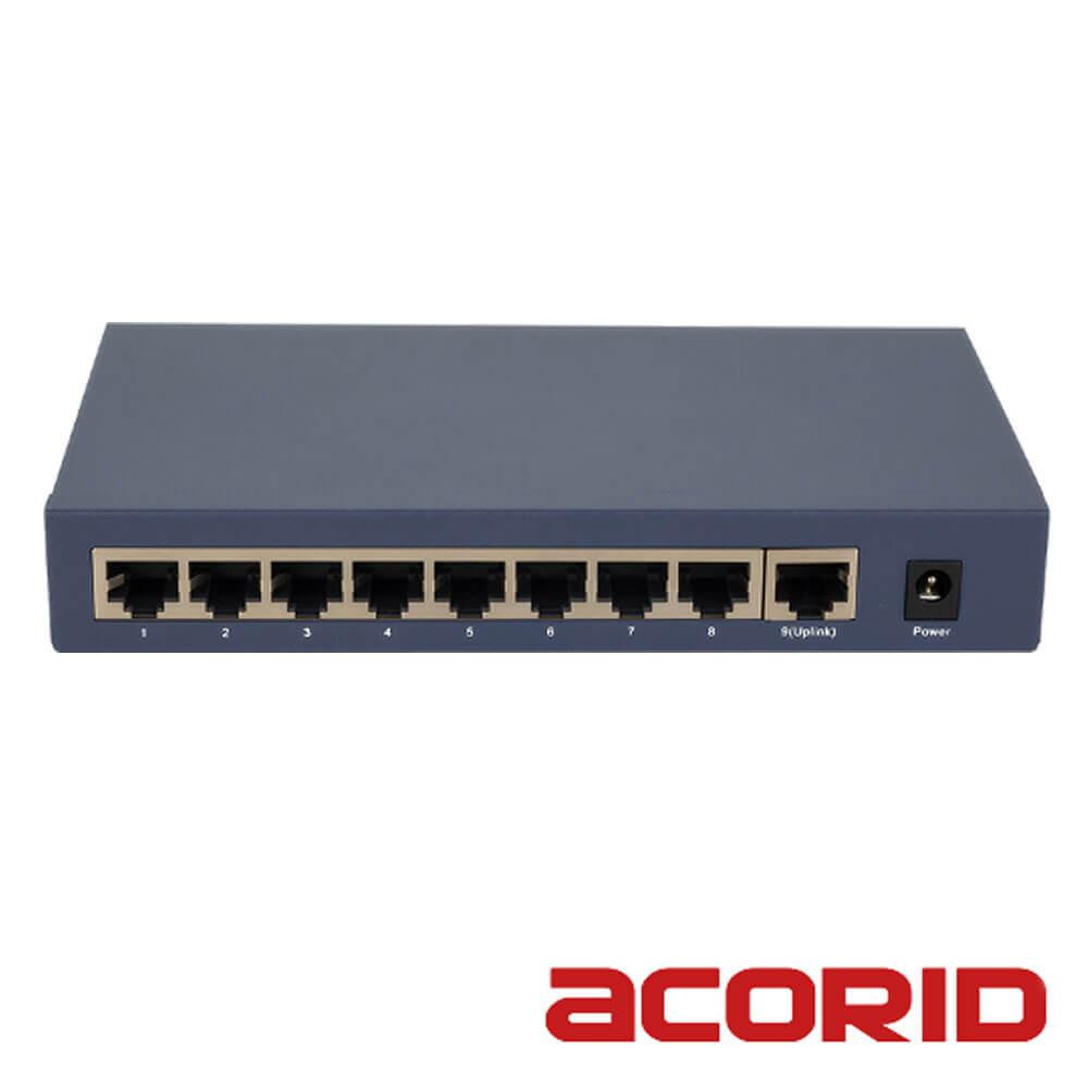 Cel mai bun pret pentru Switch-uri si injectoare ACORID LS1709PE Special pentru interconectarea diferitelor segmente de rețea