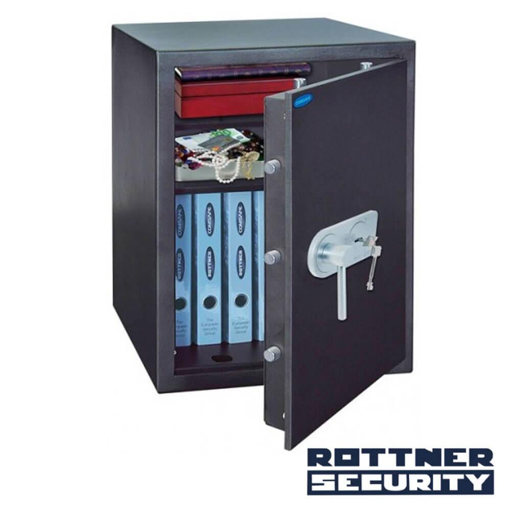 Cel mai bun pret pentru Seif-uri ROTTNER T04684 Seif antiefracţie TOSCANA 65 cu închidere mecanică
