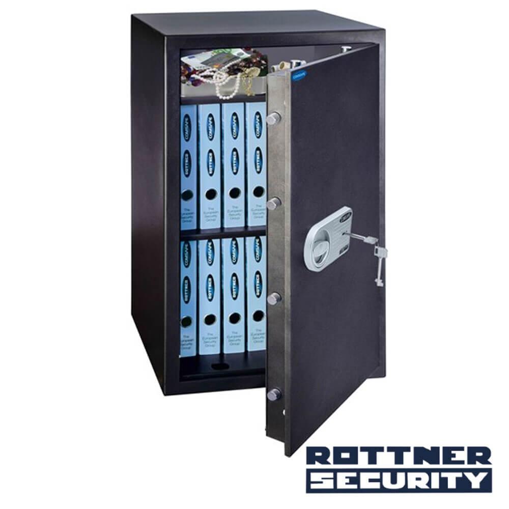 Cel mai bun pret pentru Seif-uri ROTTNER T04686 Sistem de închidere:  închidere mecanică cu cheie de acces în duplicat