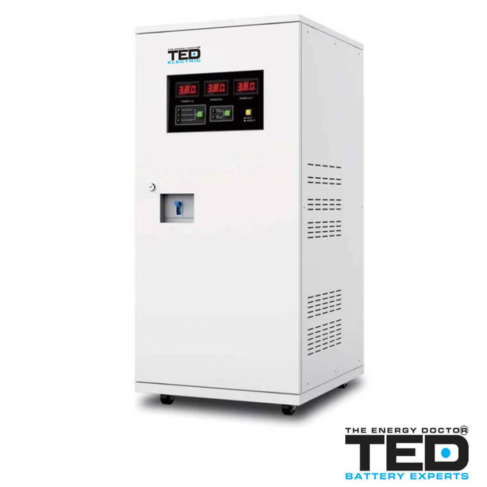 Cel mai bun pret pentru Stabilizatoare tensiune TED ELECTRIC TED15KSVC Stabilizator teniune 15000VA 12000W