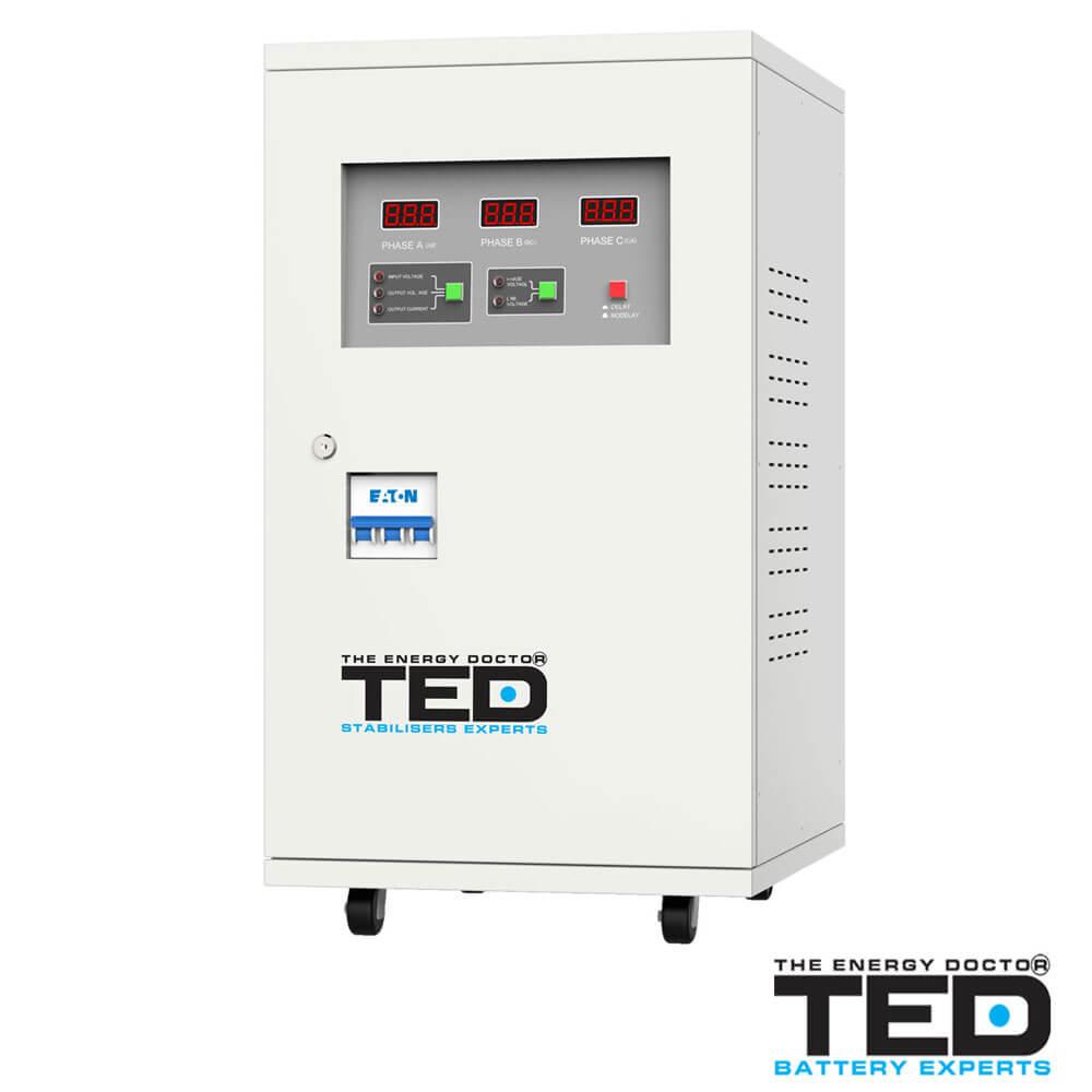 Cel mai bun pret pentru Stabilizatoare tensiune TED ELECTRIC TED30KVASBW Stabilizator de tensiune 30000VA-21000W
