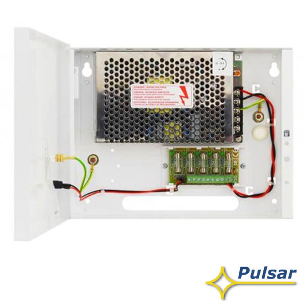 Cel mai bun pret pentru Surse alimentare PULSAR PSDC161216T Sursa 12V-16A cu 16 iesiri