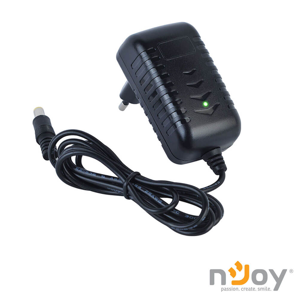 Cel mai bun pret pentru Surse alimentare NJOY AD120101 Alimentator camera video de supraveghere 12V 1A